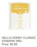 Hello honey pad