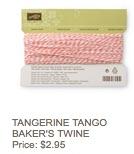 Tangerine twine