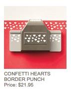 Hearts border punch