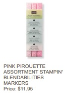 Pink pirouette blendies