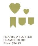 Hearts a flutter dies