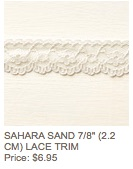Sahara sand lace