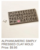 Alphanumeric mold