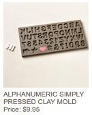 Alphanumeric mold