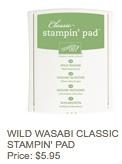 Wasabi pad