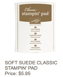 Soft suede pad