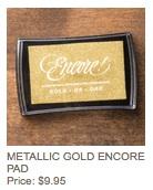 Gold pad