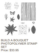 Build a bouquet stamp set