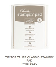 Taupe pad
