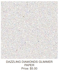 Diamonds glimmer paper