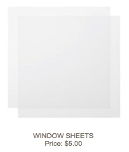 Window sheets