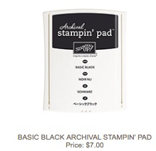 Basic black pad