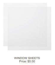Window sheets