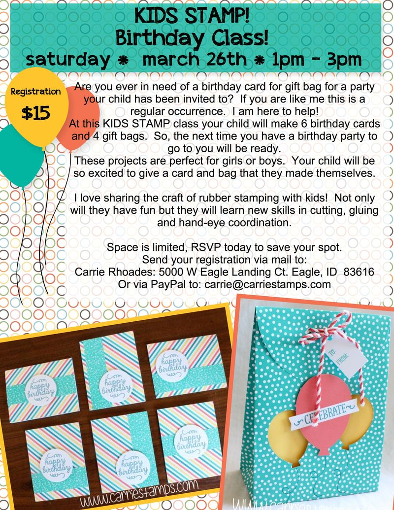 Kids Birthday Card class-001