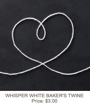 White twine