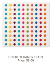 Candy dots bright