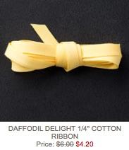 Daffodil ribbon