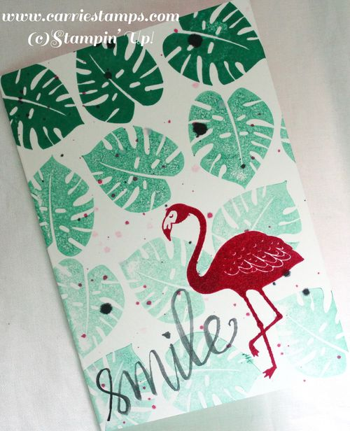 Pop of paradise note card1