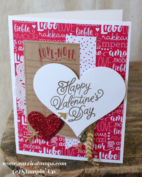Sealed with love card 2