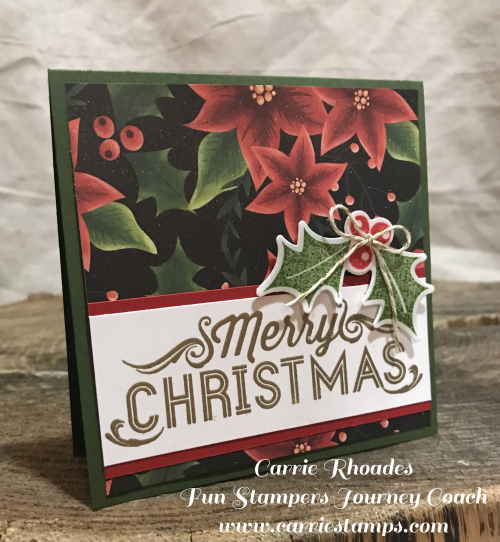 Holly Berry Card