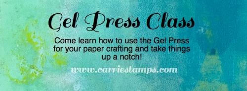 Gel Press Class-001