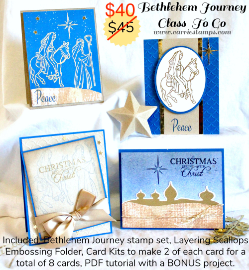 Bethlehem Journey flyer-sale