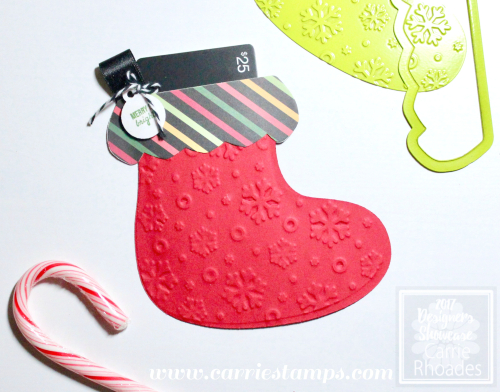 Chubby Stocking GC Wrap