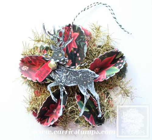 Scallop Circle Star Ornament 2