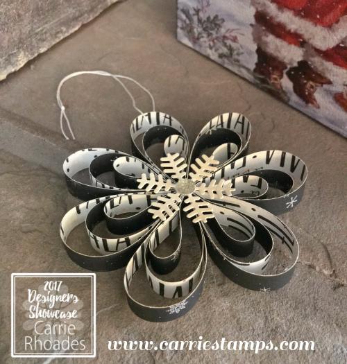Christmas Flower Ornament 3