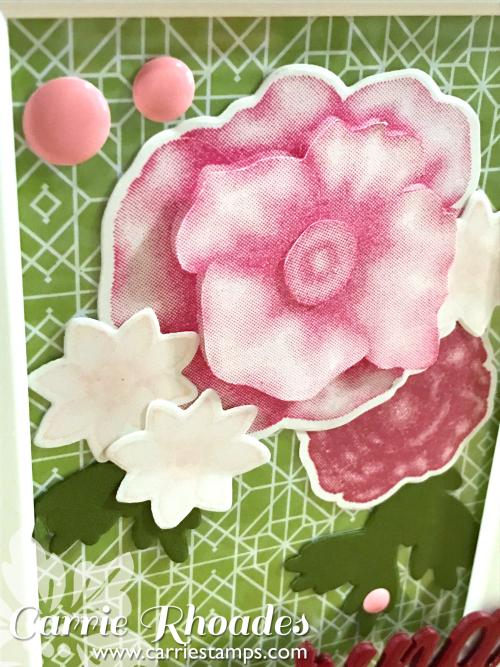 Spring Botanicals Framed 3