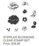 Stippled blossoms