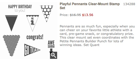Playful pennants
