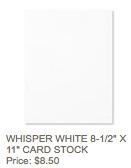 Whisper white cs