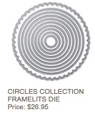 Circle framelits