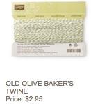 Olive twine