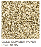 Gold glimmer