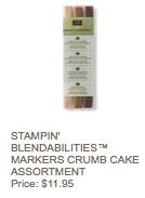 Crumb cake blenders