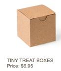 Tiny treat box