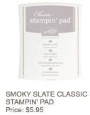 Smoky slate pad