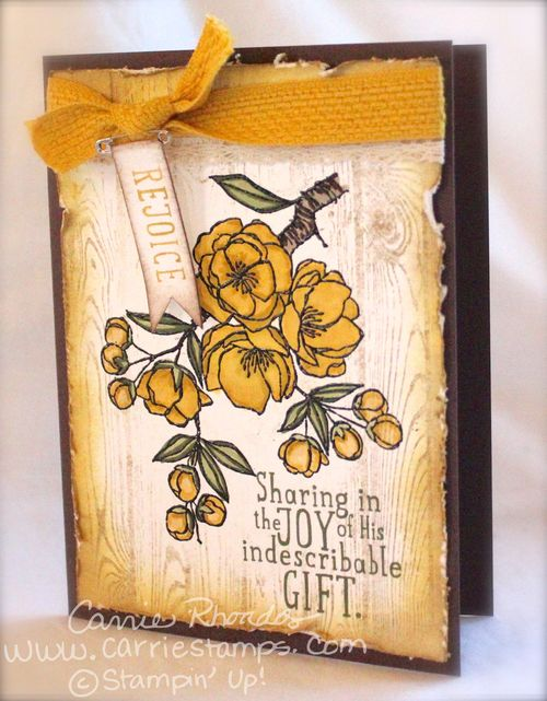 Indescribable gift yellow