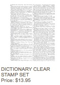 Dictionary stamp