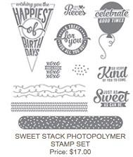 Sweet stack set