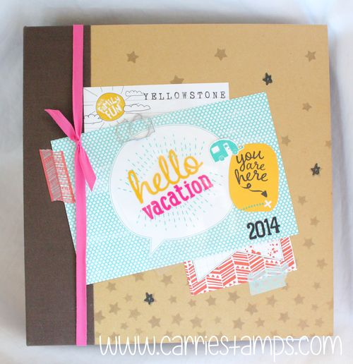 Decorated 6x8 album 2