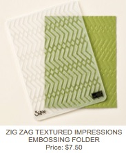 Zig zag folder