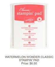 Watermelon pad