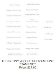 Teeny tiny wishes