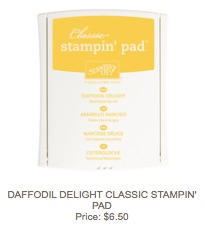 Daffodil delight pad