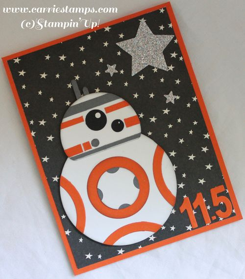BB8 punch art card 3
