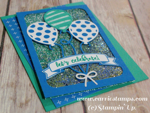 Balloon Adventure Shaker Card 4