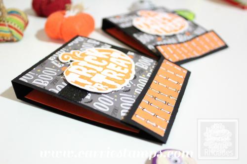 Halloween Silhouette Matchbook 2